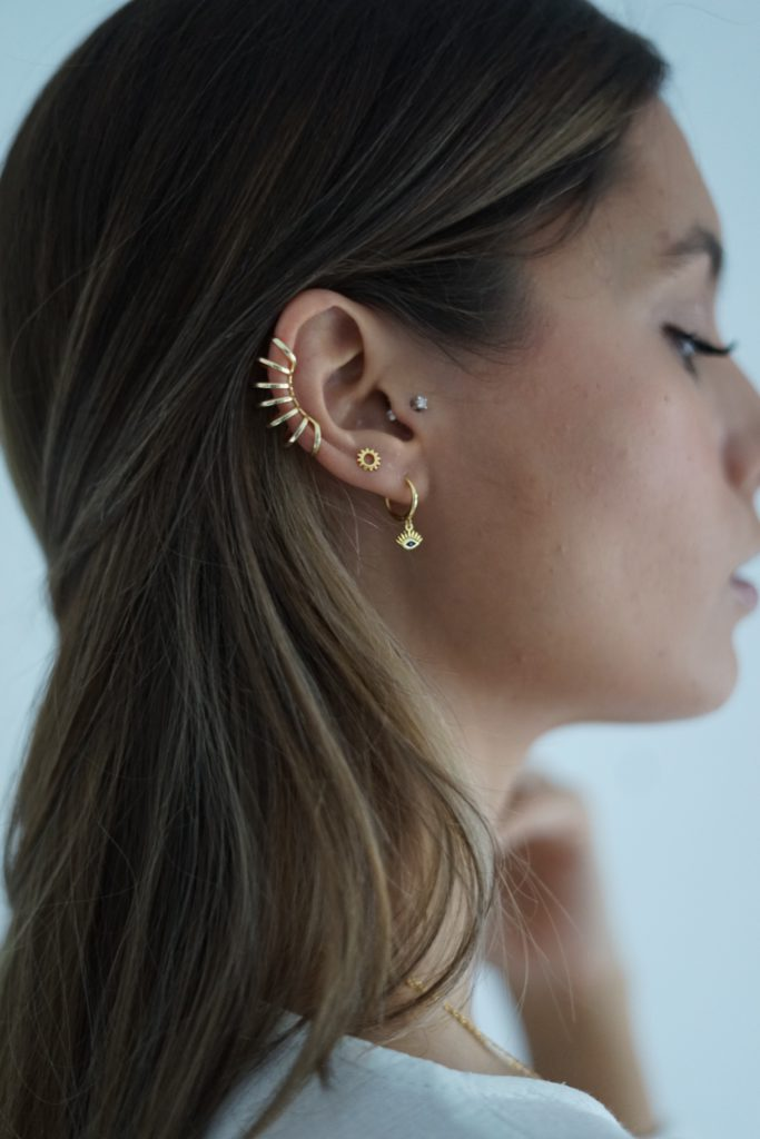Pendientes Earcuff disponibles en Coconut Store